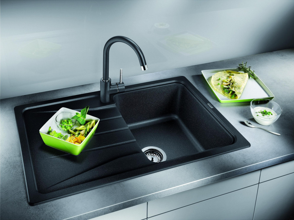 Кухонная мойка Blanco Sona 45S Антрацит 519662