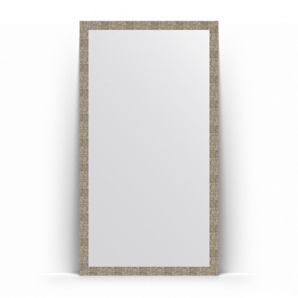 Зеркало напольное 108х197 см соты титан Evoform Definite Floor BY 6018 зеркало evoform definite floor 197х108 соты алюминий