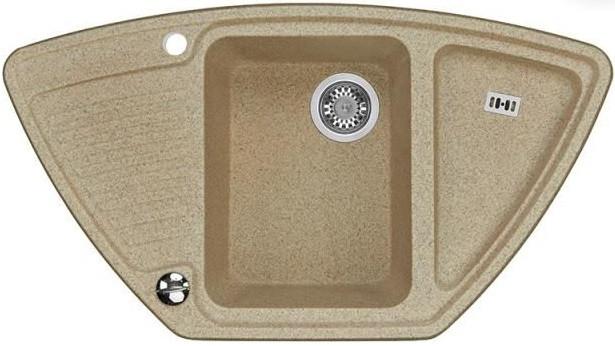 Кухонная мойка песочный Акватон Лория 1A715032LR220