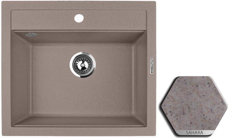 Кухонная мойка SAHARA Lava Q2.SAH lava q2 серый q2 sca