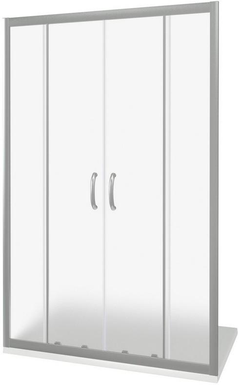 Душевая дверь 150 см Good Door Infinity WTW-TD-150-G-CH grape