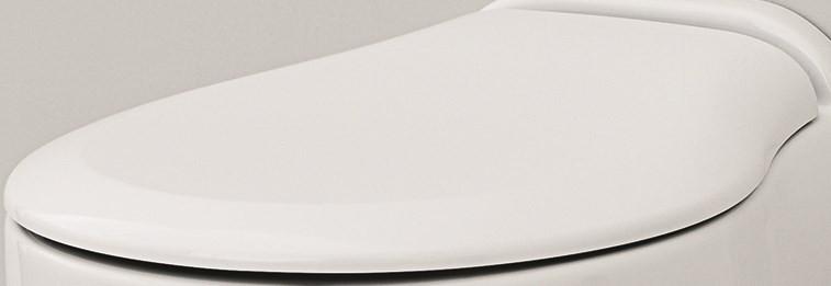 Сиденье для унитаза с микролифтом белый/хром Artceram Blend BLA00601BI/CR биде подвесное artceram blend blb0010100 l3120bi 1