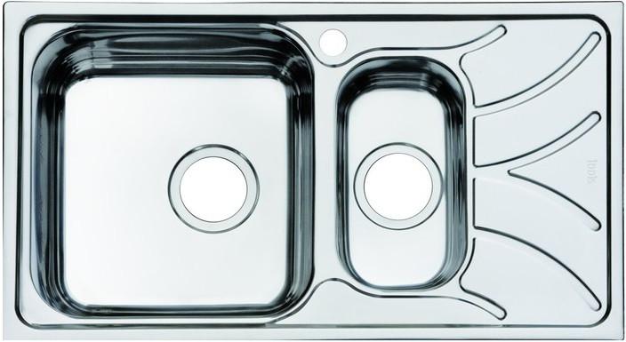 Кухонная мойка полированная сталь IDDIS Arro ARR78PXI77