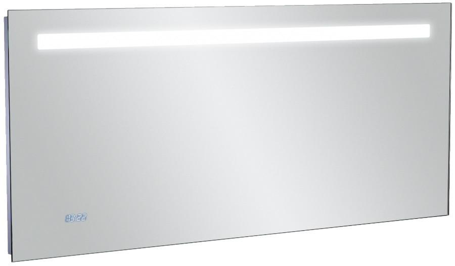 Зеркало со светодиодной подсветкой и часами 140*65 см Jacob Delafon Replay EB1165-NF