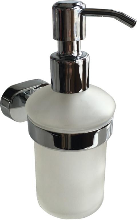Дозатор жидкого мыла Milardo Solomon SOLSMG0M46 дозатор для жидкого мыла керамический milardo baffin ba091mi