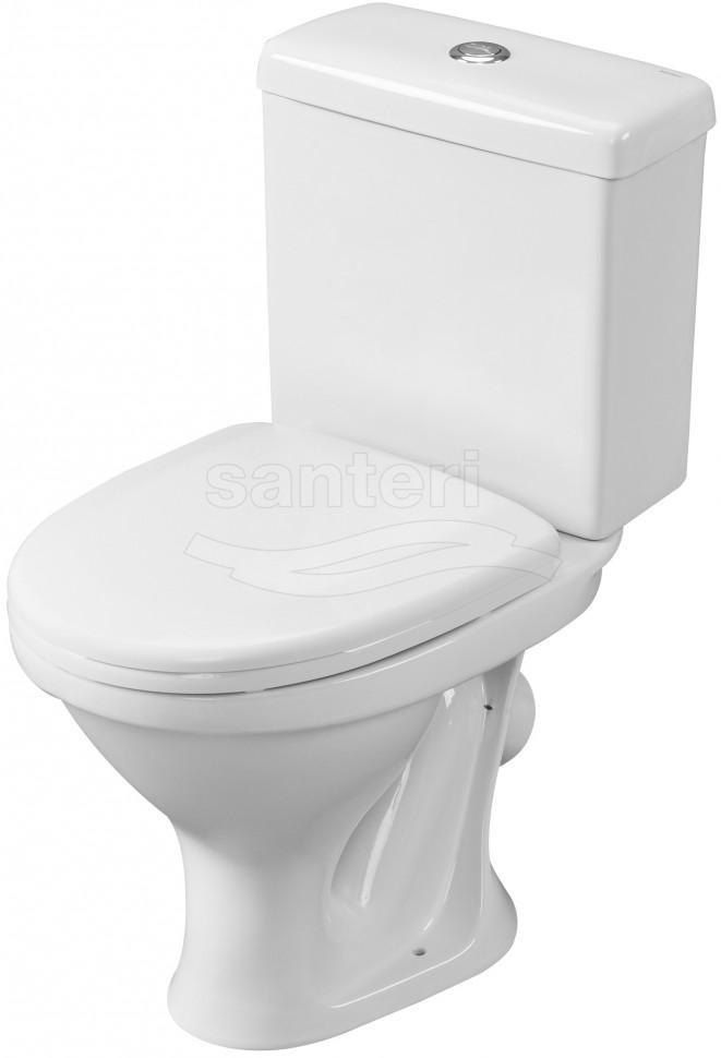 Унитаз-компакт с сиденьем Santeri Forward 1.P205.2.S00.00B.F унитаз компакт с сиденьем santeri forward 1 p205 2 s00 00b f