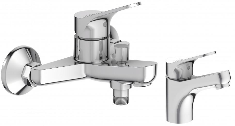 Комплект смесителей Jacob Delafon Brive E75766-CP + E75762-CP стоимость