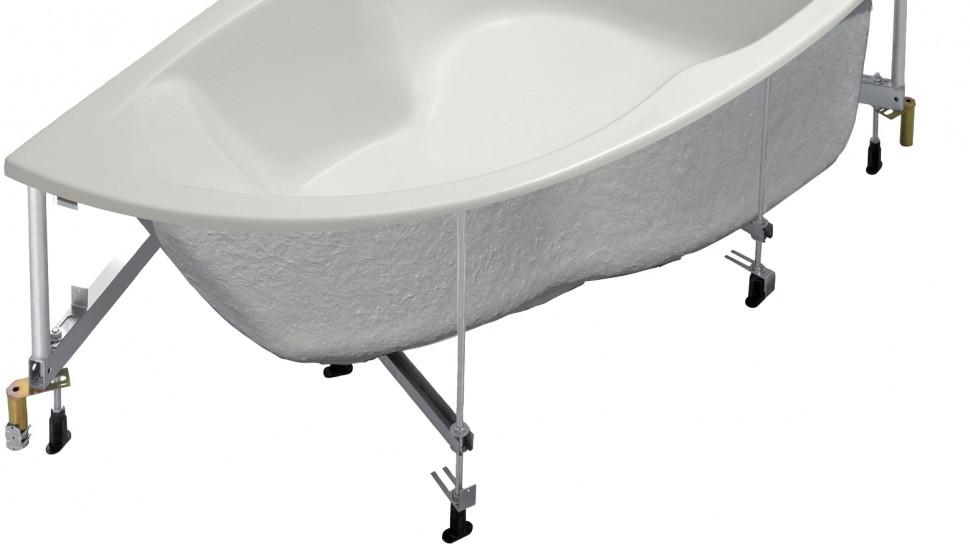 Каркас Jacob Delafon Micromega Duo SF219RU-NF акриловая ванна jacob delafon micromega duo асимметричная левая 170x105 на каркасе e60221ru 00 sf219ru nf