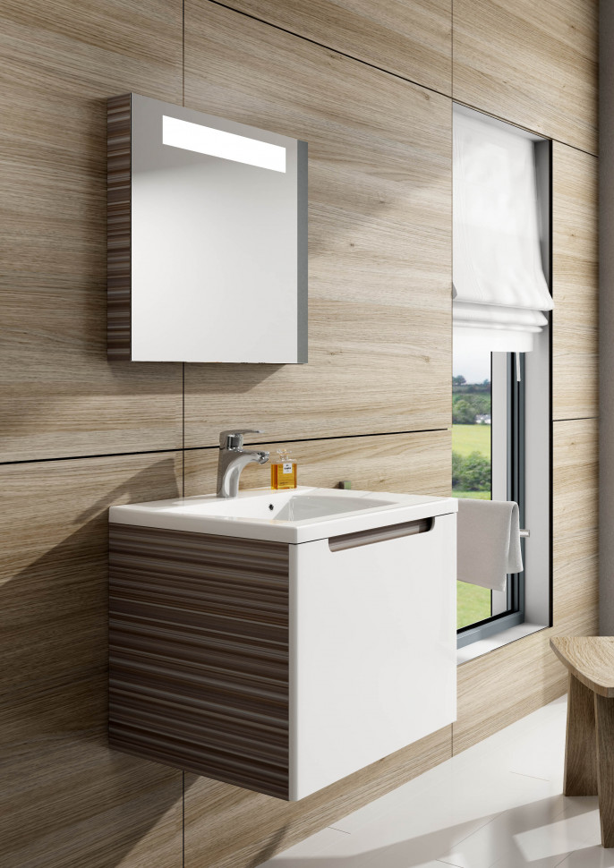 Зеркало с подсветкой espresso 60х55 см Ravak Classic 600 X000000430 цена 2017