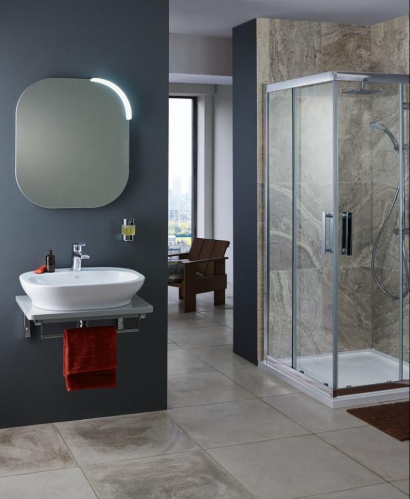 Зеркало 60х70 Ideal Standard SoftMood T7825BH крючок ideal standard softmood a9145aa