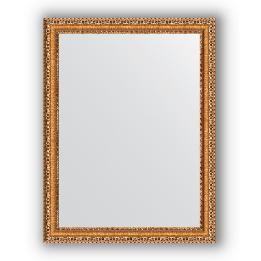 Зеркало 65х85 см золотые бусы на бронзе Evoform Definite BY 3170 зеркало evoform definite 155х75 золотые бусы на бронзе