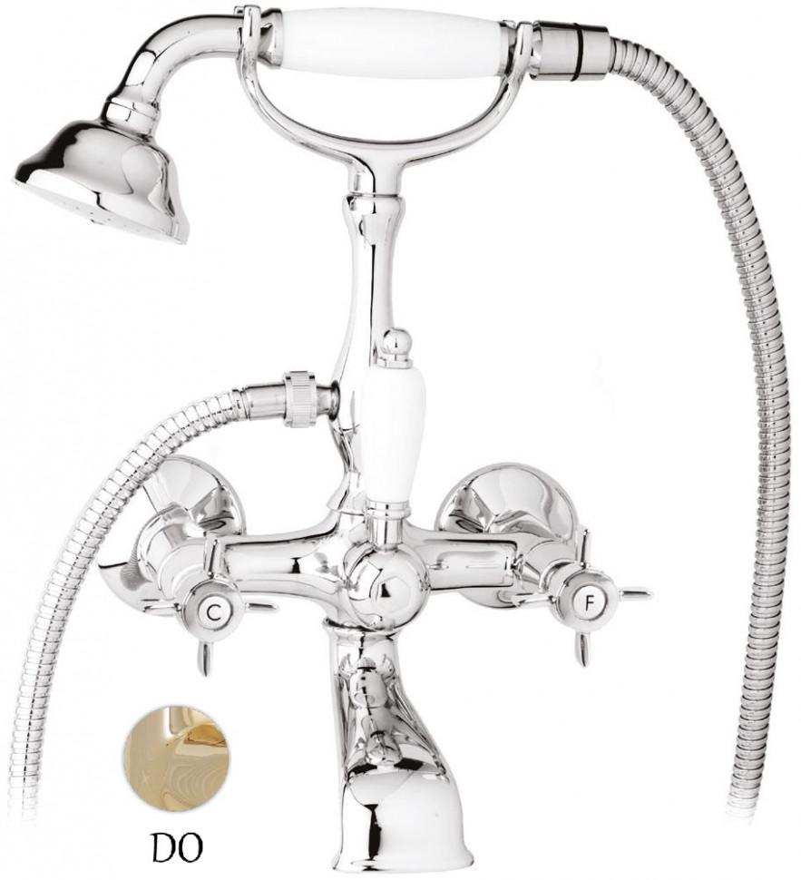 Смеситель для ванны золото 24 карат Cezares Lord LORD-VD-03/24