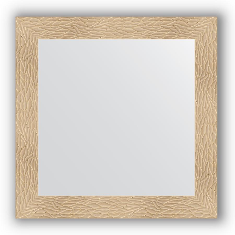 Зеркало 80х80 см золотые дюны Evoform Definite BY 3245 зеркало evoform definite floor 201х111 золотые дюны