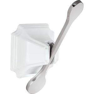 Крючок Elghansa Hermitage HRM-700-WHITE/CHROME крючок elghansa hermitage белый хром hrm 900 white chrome