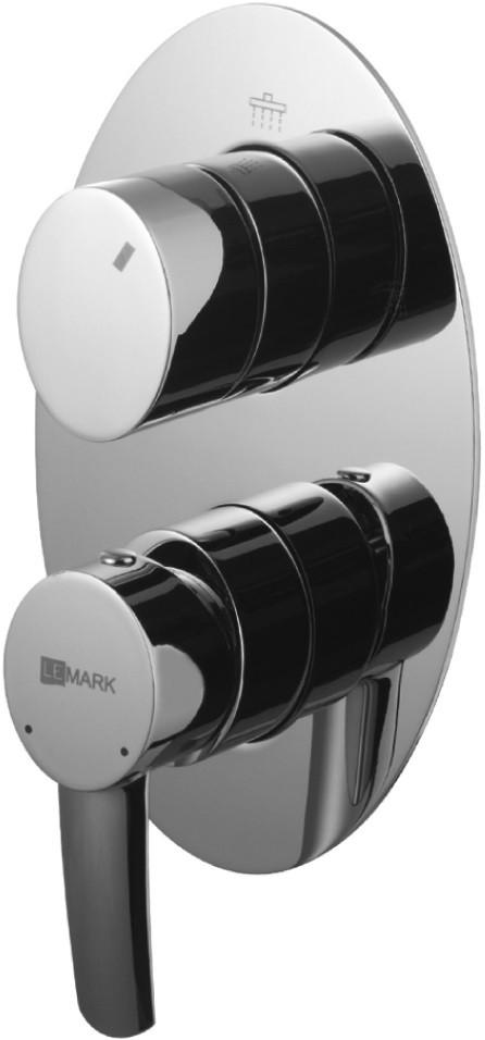 Смеситель для ванны Lemark Atlantiss LM3227C смеситель для ванны lemark atlantiss lm3228c