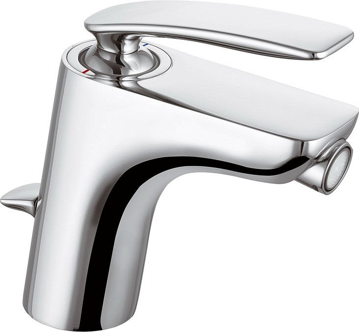 Смеситель для биде с донным клапаном Kludi Balance 522160575 смеситель для биде kludi kludi balance 522169175