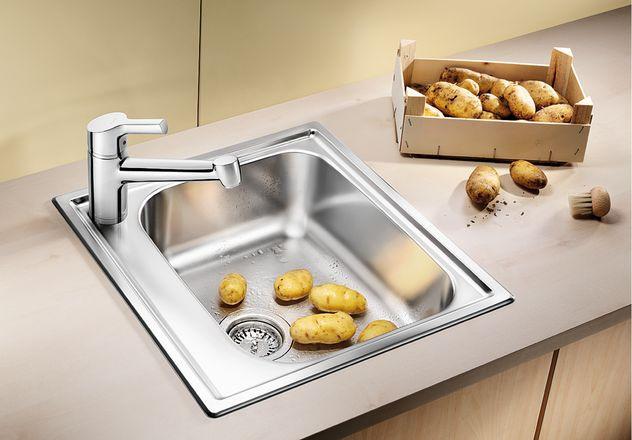 Кухонная мойка Blanco Livit 45 Полированная сталь 514785 фото