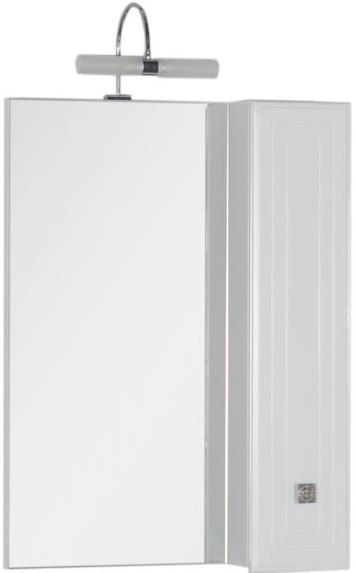 Зеркальный шкаф 65х88,1 см белый Aquanet Стайл 00179922 еж стайл линейка коняшка цвет антрацитовый 15 см