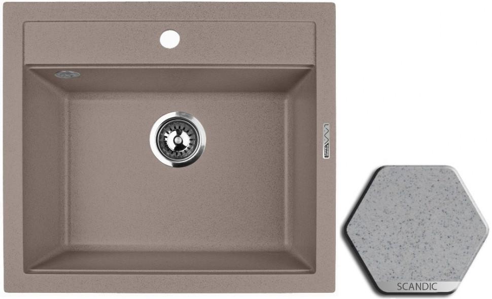 Кухонная мойка SCANDIC Lava Q2.SCA lava q2 серый q2 sca