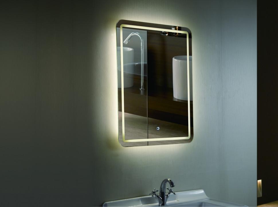 Зеркало с подсветкой 50х70 см Esbano ES-1989FD