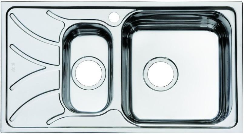 кухонная мойка iddis arro s arr60pli77 полированная Кухонная мойка полированная сталь IDDIS Arro ARR78PZI77