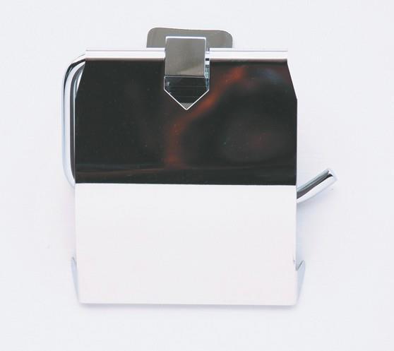 Держатель туалетной бумаги с крышкой Rainbowl Cube 2742 держатель туалетной бумаги rainbowl long с освежителем 2230 2