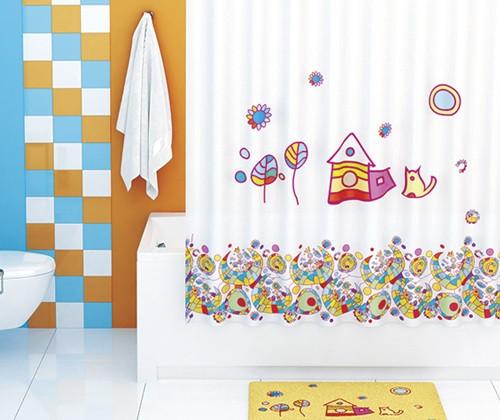 Штора для ванной комнаты WasserKRAFT Kammel SC-12101 фото