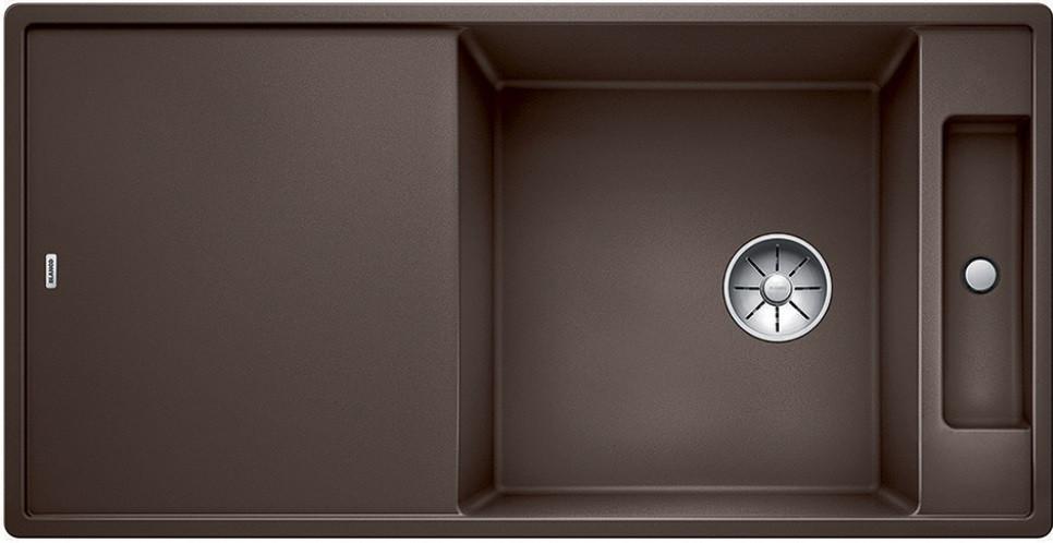 Кухонная мойка Blanco Axia III XL 6 S-F InFino кофе 523531 кухонная мойка blanco axia iii 6s infino кофе 523471