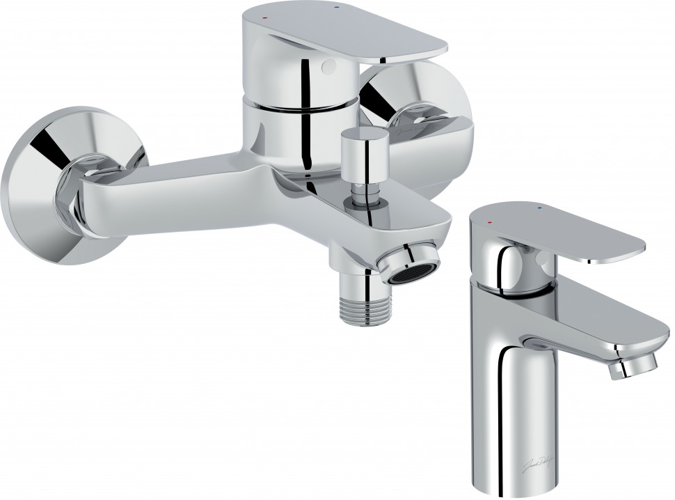 Комплект смесителей Jacob Delafon Oscar E29844-CP + E29842-CP стоимость