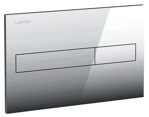 Смывная клавиша двухрежимная глянцевый хром Laufen LIS 8.9566.1.004.000.1 фото