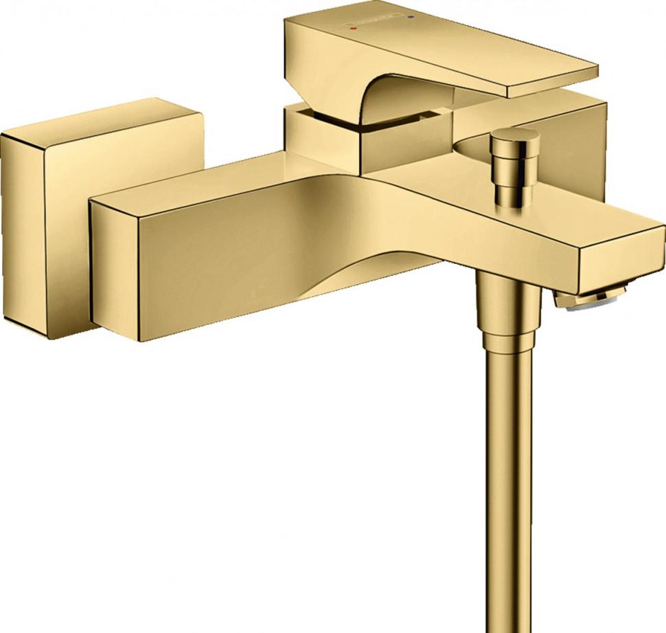 Смеситель для ванны Hansgrohe Metropol 32540990 смеситель для ванны hansgrohe metropol s 14461000