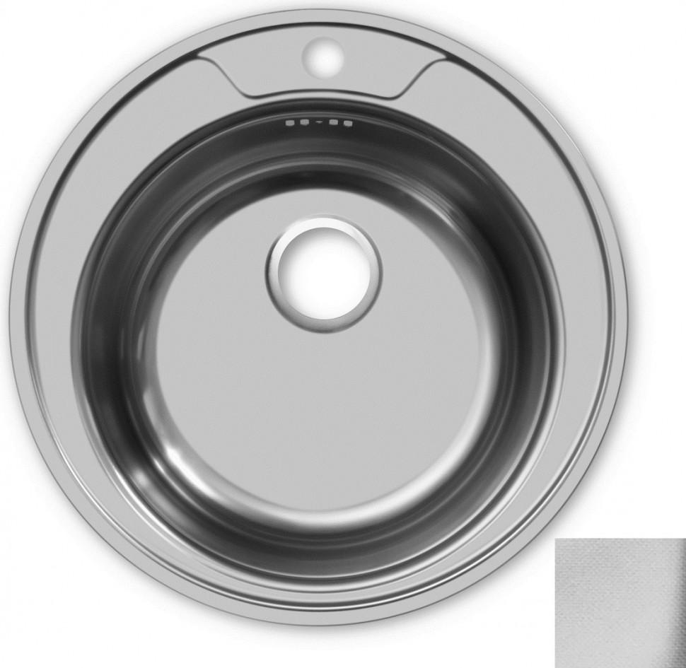 Кухонная мойка декоративная сталь Ukinox Фаворит FAL490 -GT6K 0C кухонная мойка декоративная сталь ukinox фаворит fal577 447 gt6k 2l