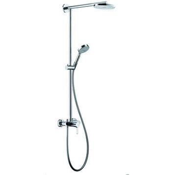 Душевая система Hansgrohe Raindance Showerpipe EcoSmart 180 27191000 душевая панель hansgrohe raindance lift 27008000