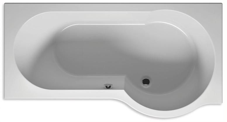 Акриловая ванна 170х90 см Riho Dorado L BA8100500000000 акриловая ванна riho dorado 170x90 l левая без гидромассажа ba8100500000000