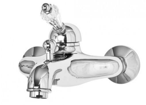 Смеситель для ванны хром, ручка Swarovski Cezares Vintage VINTAGE-VM-01-Sw