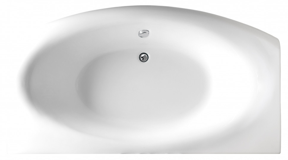 Акриловая ванна 170х94 см Marka One Nega 01нег1795