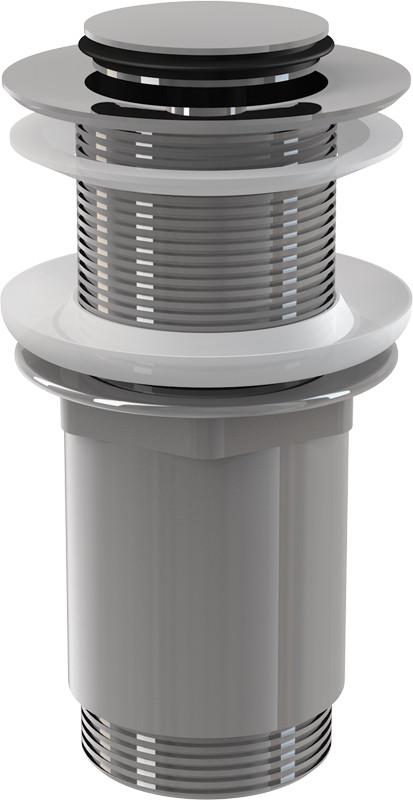 Донный клапан без перелива ClickClack AlcaPlast A394 доннный клапан alcaplast для раковины без перелива a396