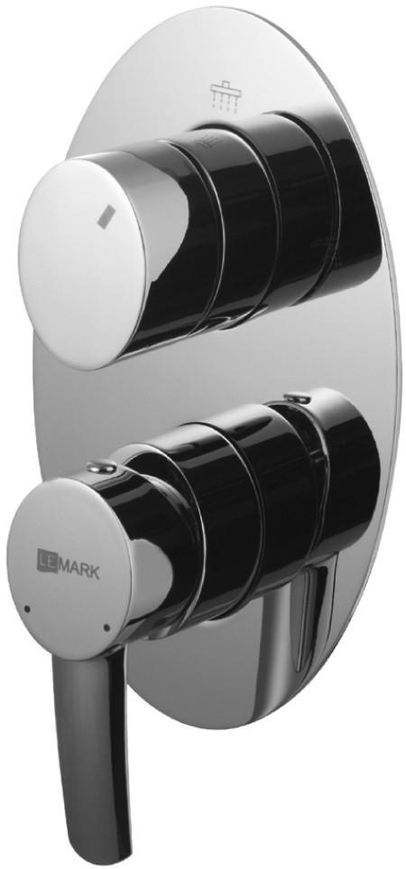 Смеситель для ванны Lemark Atlantiss LM3228C смеситель для ванны lemark atlantiss lm3228c