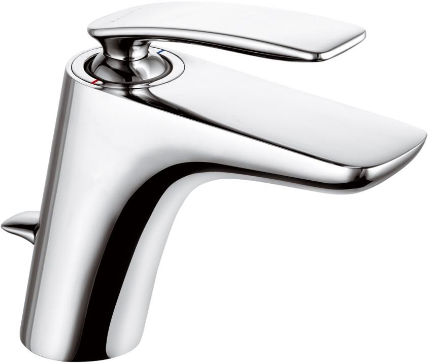 Смеситель для раковины с донным клапаном Kludi Balance 520230575 смеситель для раковины kludi kludi balance 522479175