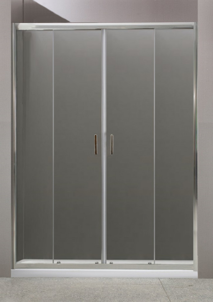 Душевая дверь 180 см BelBagno UNO-BF-2-180-C-Cr прозрачное