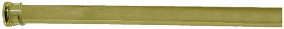 Карниз для ванной комнаты 104-190 см Carnation Home Fashions Standard Tension Rod Brass TSR-64 цена