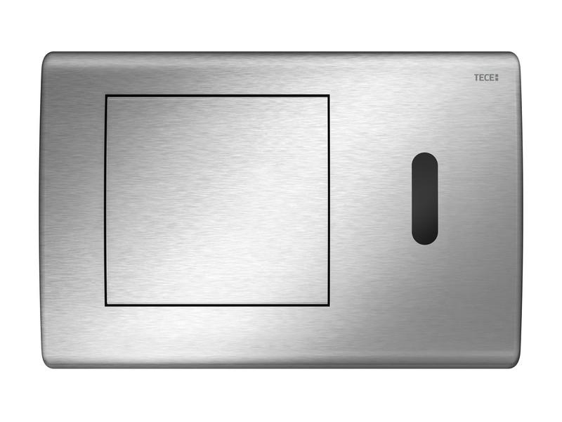 Смывная клавиша бесконтактная, питание от сети 12 В Tece TECEplanus нержавеющая сталь 9240352 смывная клавиша бесконтактная питание от батареи 6 в tece teceplanus нержавеющая сталь 9240350