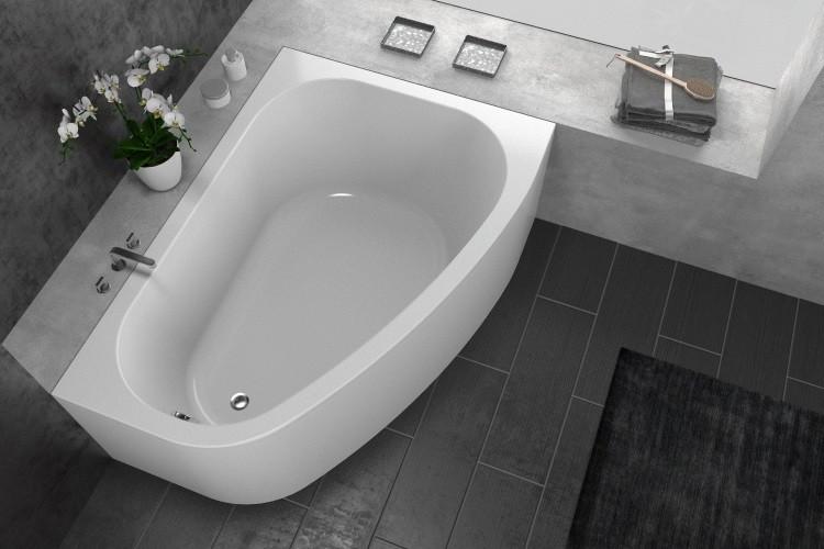 Акриловая ванна 170х120 см L Kolpa San Chad Basis акриловая ванна 160х100 см l kolpa san amadis basis