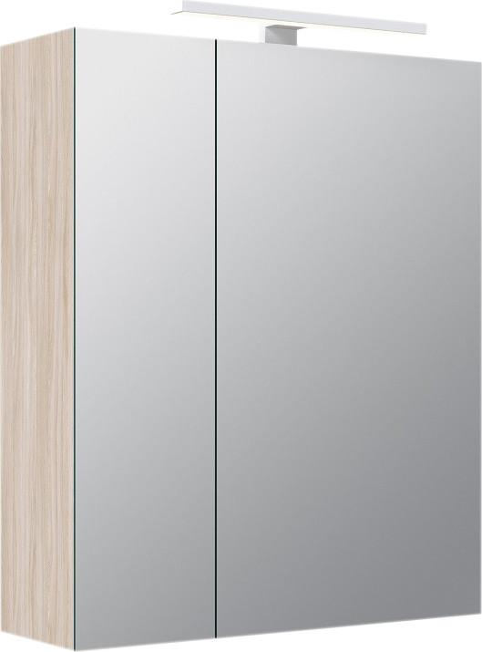 Зеркальный шкаф 50х60 см ясень шимо R IDDIS