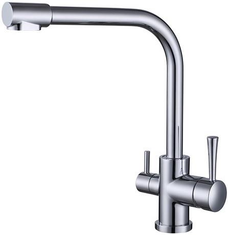 Смеситель для кухни с подключением к фильтру Kaiser Merkur 26044 смеситель kaiser merkur 26044 5 chrome matte