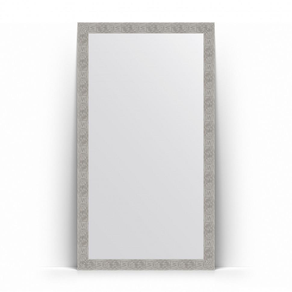 Фото - Зеркало напольное 111х201 см волна хром Evoform Definite Floor BY 6023 зеркало напольное 111х201 см чеканка золотая evoform definite floor by 6020