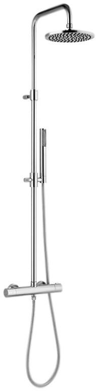 Душевая система 200 мм Webert Elio EL980507015METAL