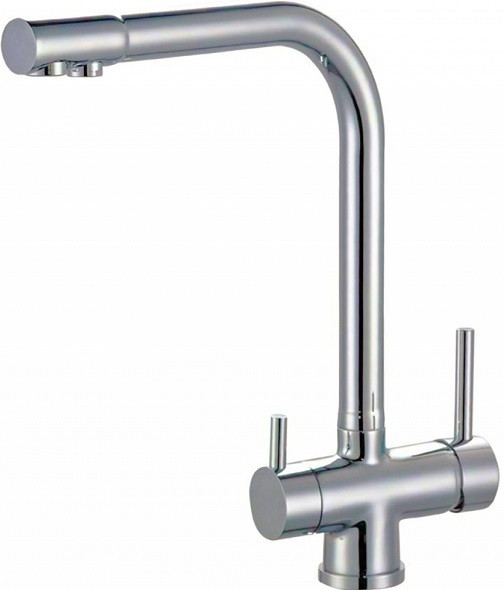 Смеситель для кухни с подключением к фильтру Zorg Sanitary ZR 348 YF SATIN фото