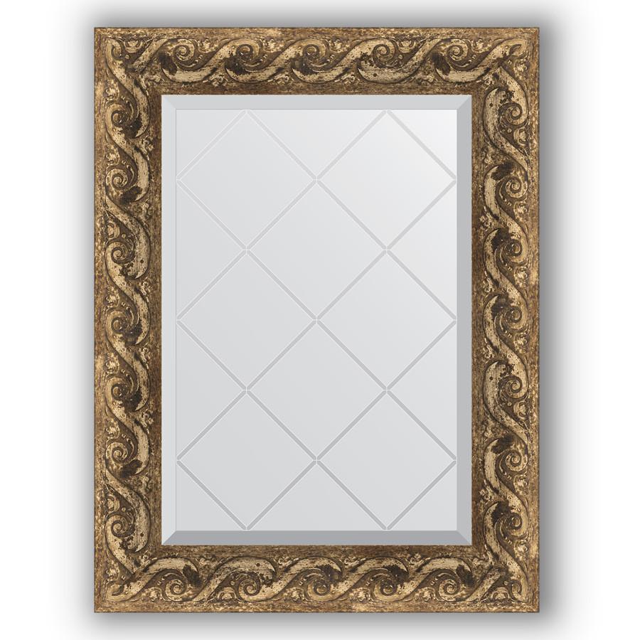 Зеркало 56х73 см фреска Evoform Exclusive-G BY 4012 зеркало evoform exclusive g 185х131 фреска