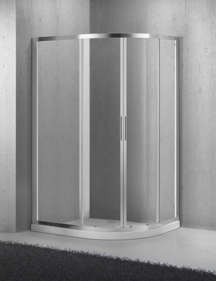Фото - Душевой уголок BelBagno Sela 100х80 см текстурное стекло SELA-RH-2-100/80-Ch-Cr sela sela se001emfsi07